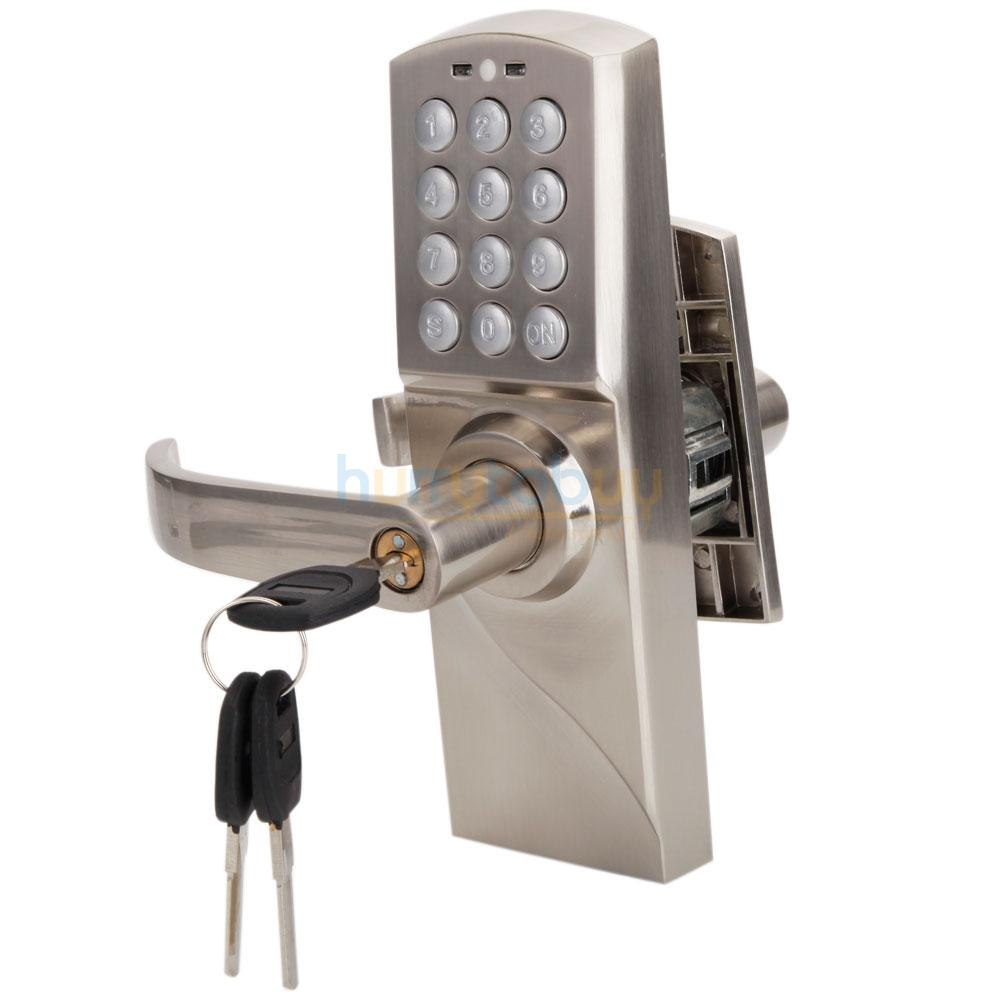 Left Handed Keypad Door Lock Keyless Password Code